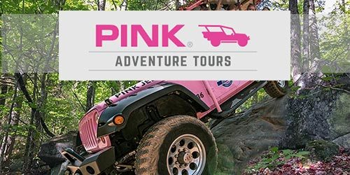 Pink Jeep Tour Smoky Mountains