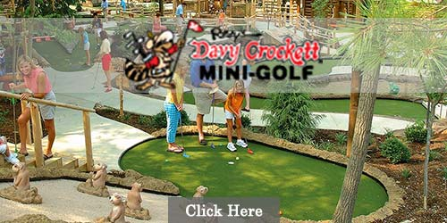 Ripley's Davy Crockett Mini- Golf